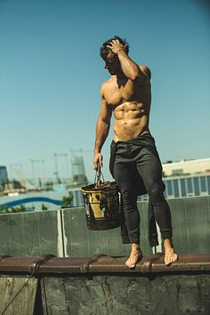 Patrick Frost male fitness model