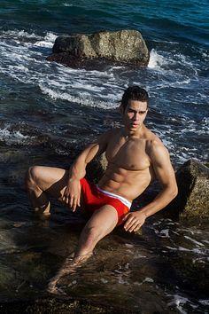 Pawel Attig male fitness model