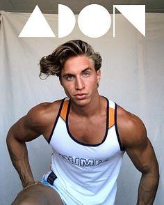 Pierrot Muller male fitness model