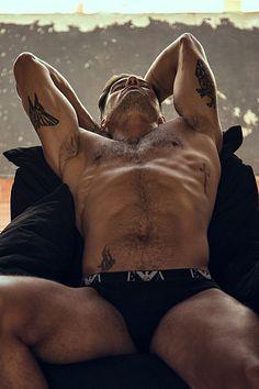 Rafael Trafig male fitness model