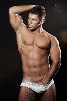 Ramin Ismailov male fitness model