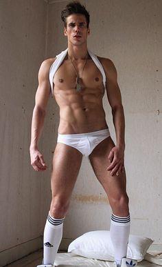 Rink male fitness model