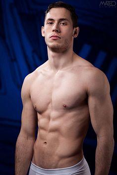 Romain Chamby male fitness model