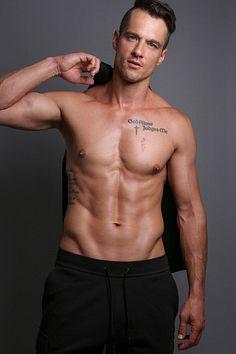 Ryan March male fitness model
