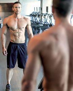 Ryan Stuart male fitness model