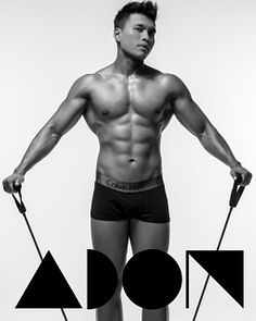 Sauffi male fitness model