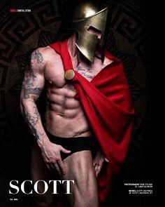 Scott Hastings male fitness model