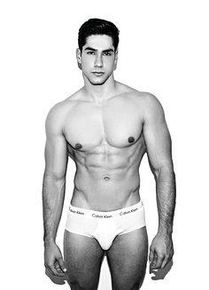 Sebastian Cadavid male fitness model