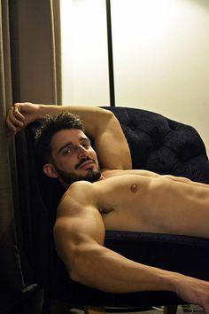 Stergios Kouklinakis male fitness model
