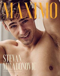 Stevan Miladinović male fitness model