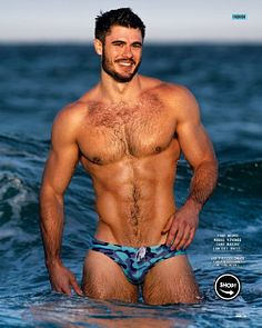 Toby Douglas male fitness model