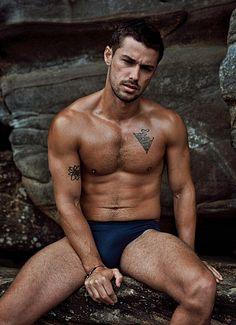 Tommy Lorans male fitness model