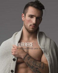 Tyler Reece male fitness model