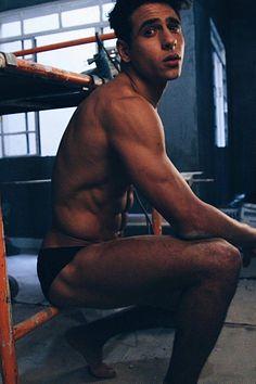 Vinicius Severo male fitness model