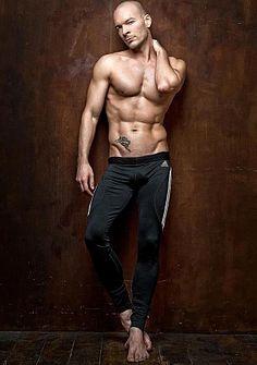 Vitalii Pleshkov male fitness model
