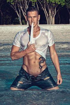 Vitaly Dorokhov male fitness model