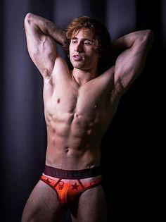 Zade Abdullah male fitness model